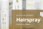 custom hairspray boxes