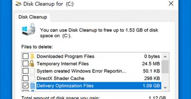 Can I Delete Delivery Optimization Files