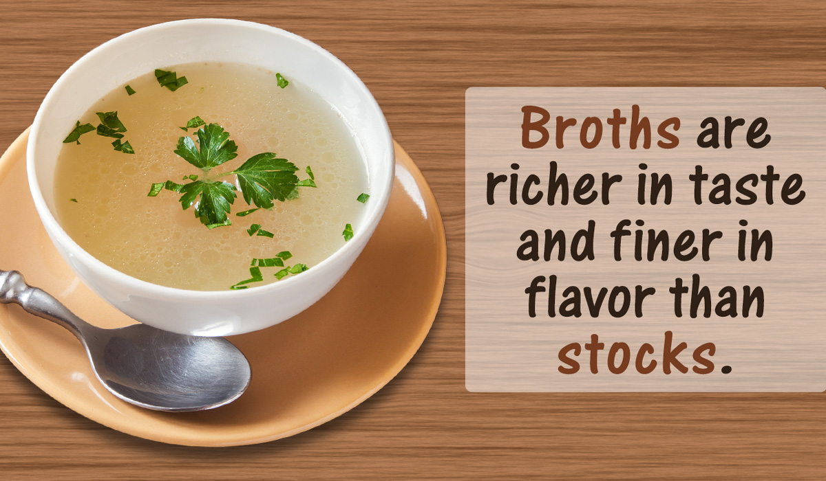 Difference Between Chicken Stock And Chicken Broth