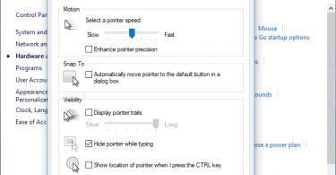 Enhance Pointer Precision Gaming