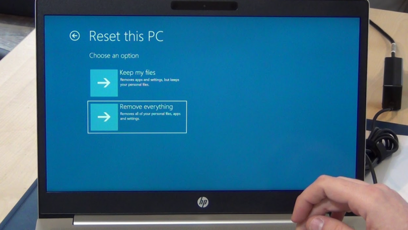 How To Factory Reset Hp Laptop