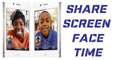 facetime screen share