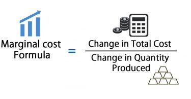 formula for marginal cost