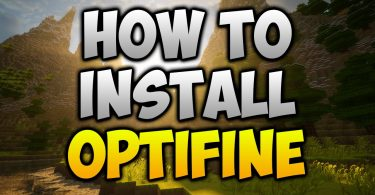how to install optifine with forge